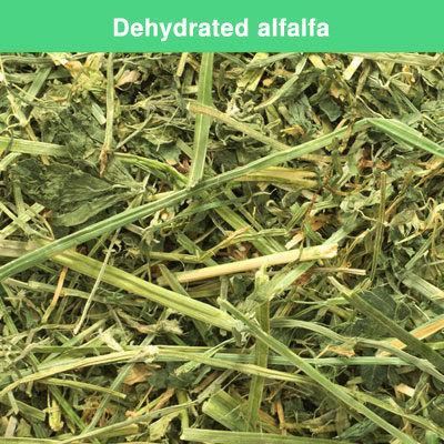 Dehydrated alfalfa