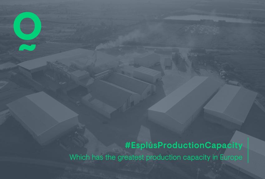 Gran capacidad de producción en Esplús