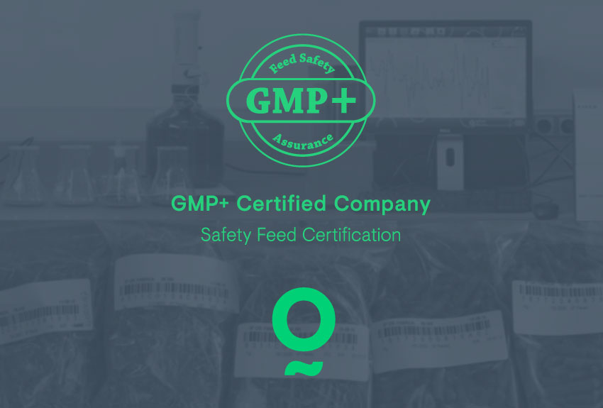 Nafosa has achieved the GMP+ B1 certification.
