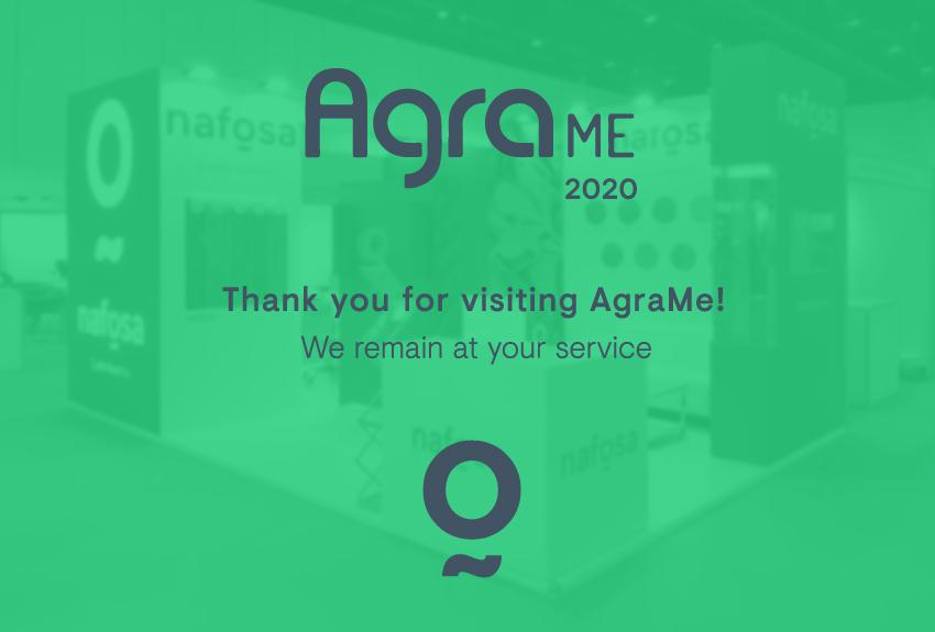 ¡Gracias por visitarnos en AgraMe!