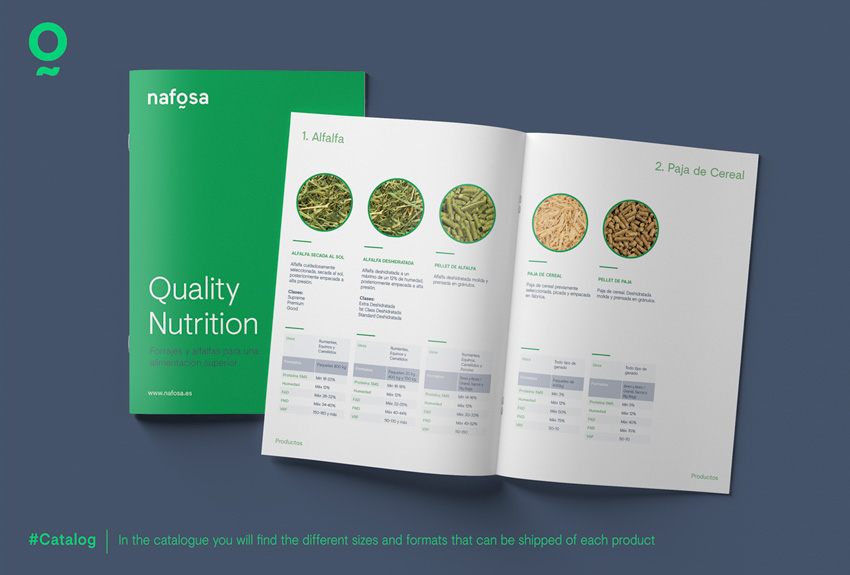 Are you familiar with Nafosa's catalogue?