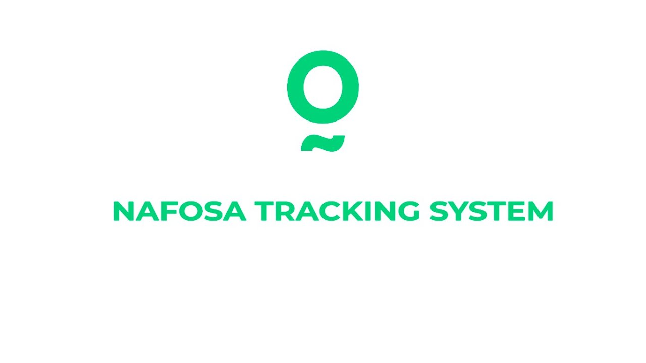 We introduce our tracking service: NAFOSA TRACKING SYSTEM